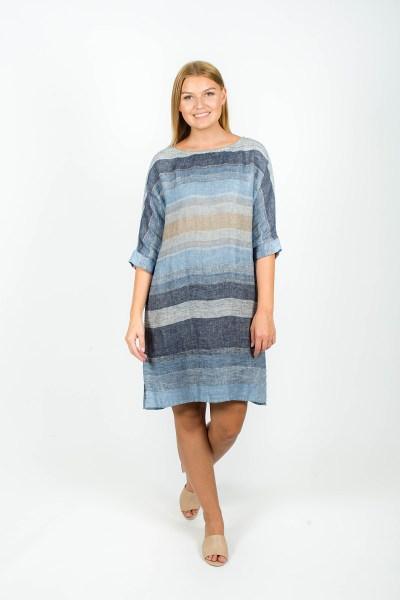 Molly Dress Seattle Blue