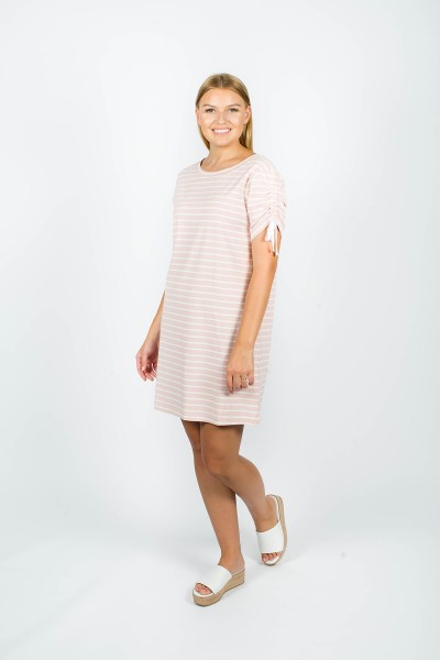 Lexi Dress Pink Stripe