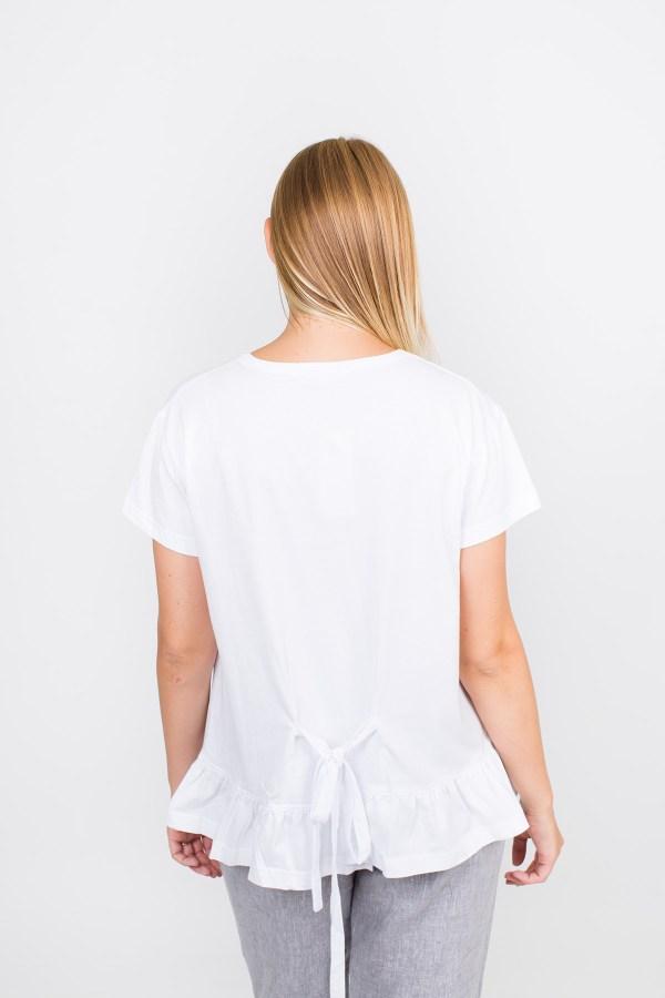 Macy Top White