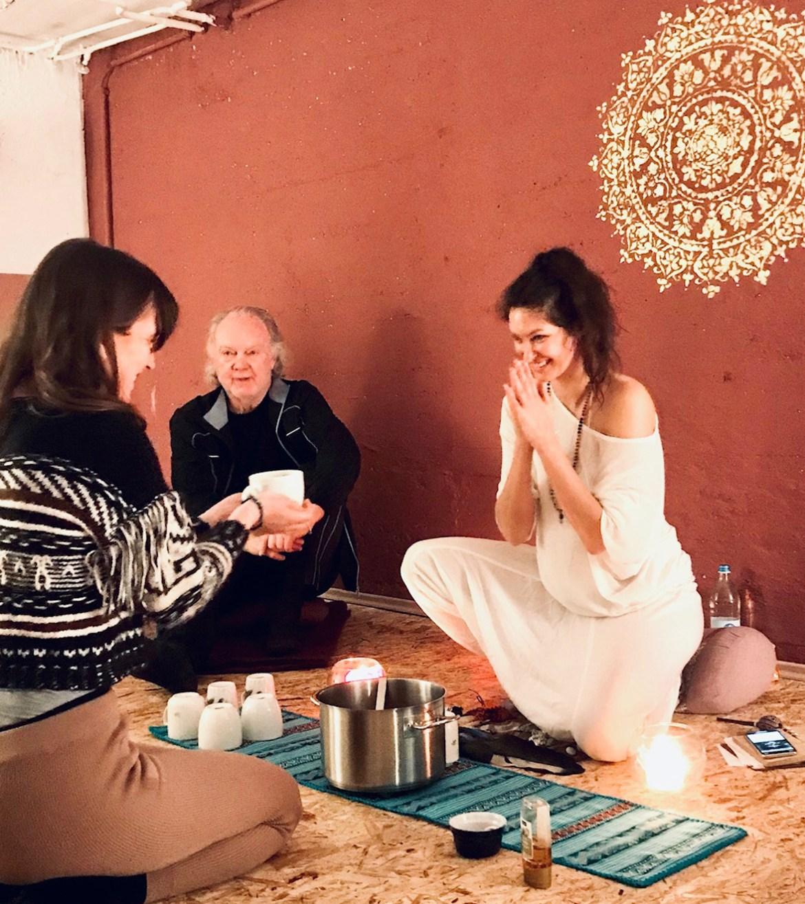 'Workshops Cacao Ceremony Marina Dietrich'