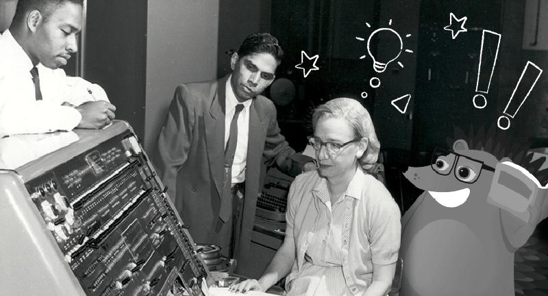 Hero image of Inspiring women who made computing history