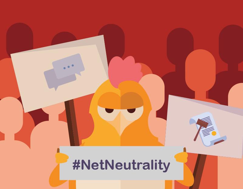 Save Net Neutrality chicken