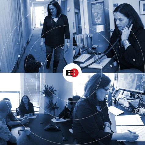 A day in the life of EFF's Corynne McSherry