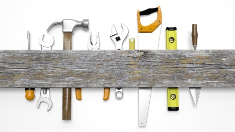 rack of tools