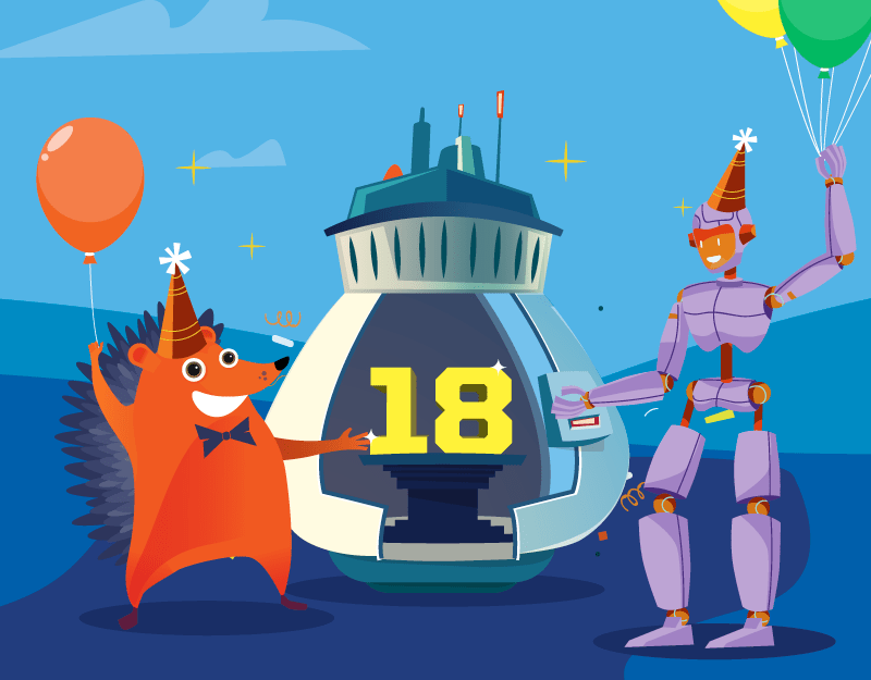 Hero image of Our Big 18 – Namecheap Comes of Age in 2018How to Design a Website with Your Users in Mind