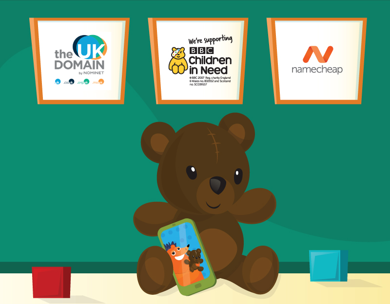 Hero image of Namecheap and Nominet Help BBC Children in Need
