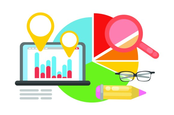website metrics illustration