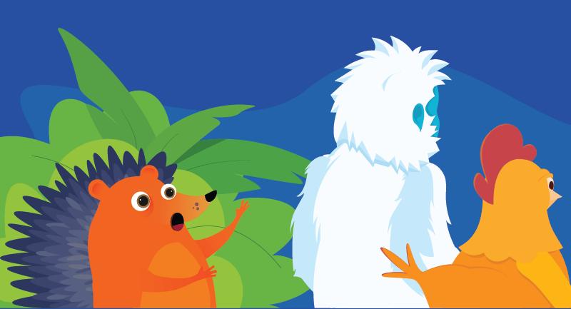 Hedgehog's friends ignoring him