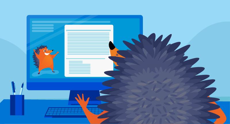 Hedgehog learning online