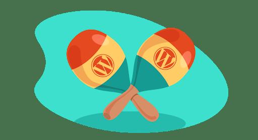 WordPress maracas