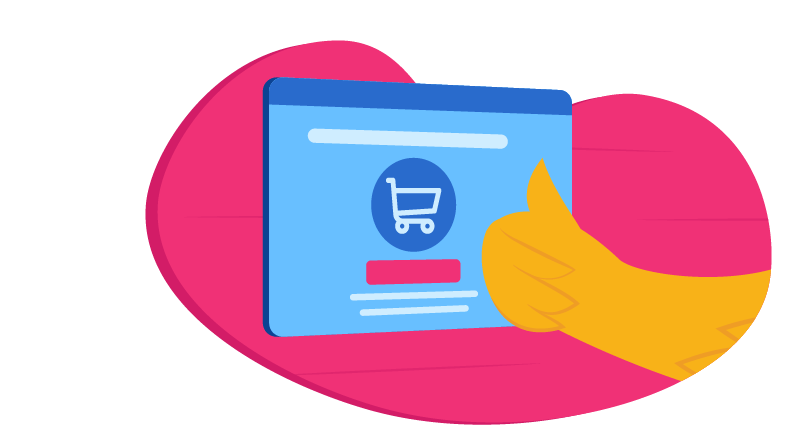 shopping cart graphic
