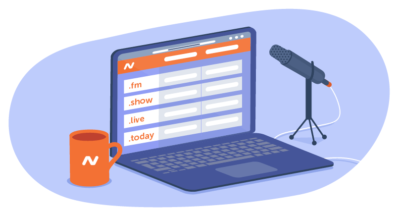 domains for podcasts