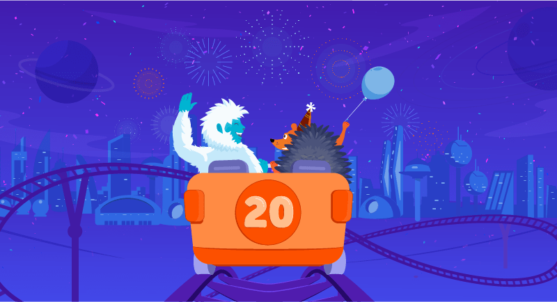 Hero image of Namecheap Turns 20 — Save Big on our Birthday