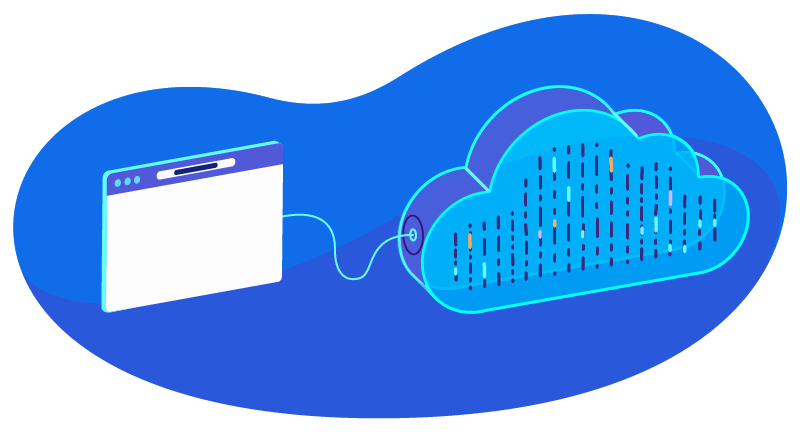 cloud hosting with one website