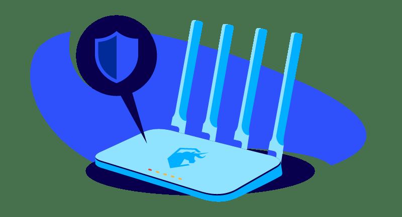 secure VPN router