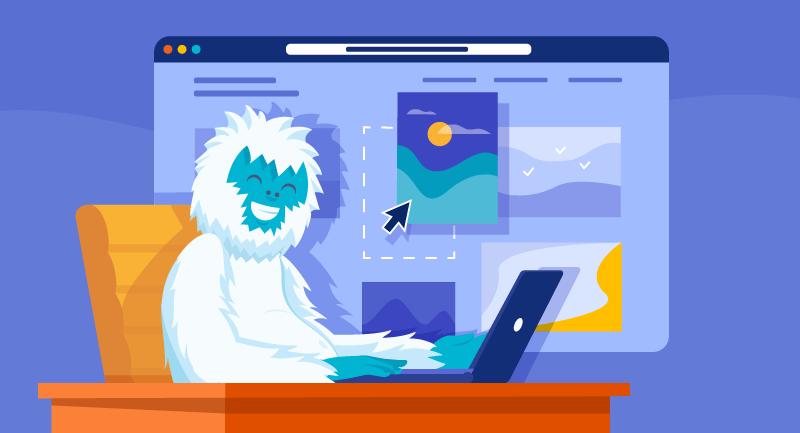 Hero article of How to build your portfolio online in 2021