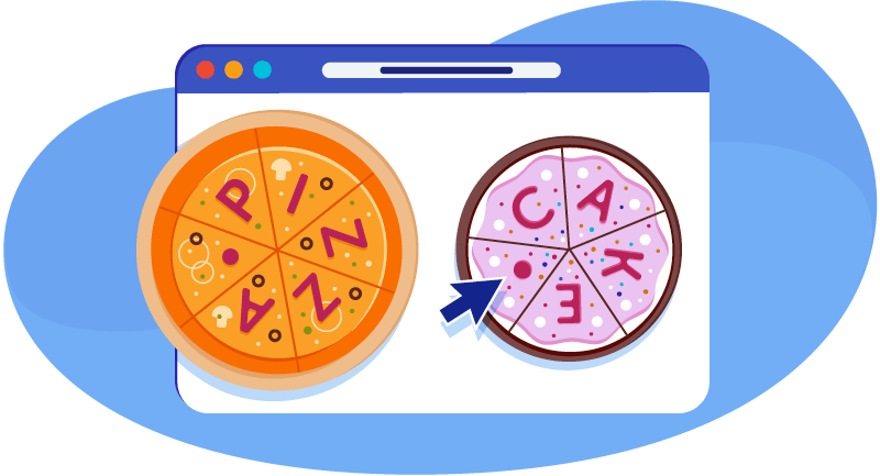 Try a .pizza or a .cake domain