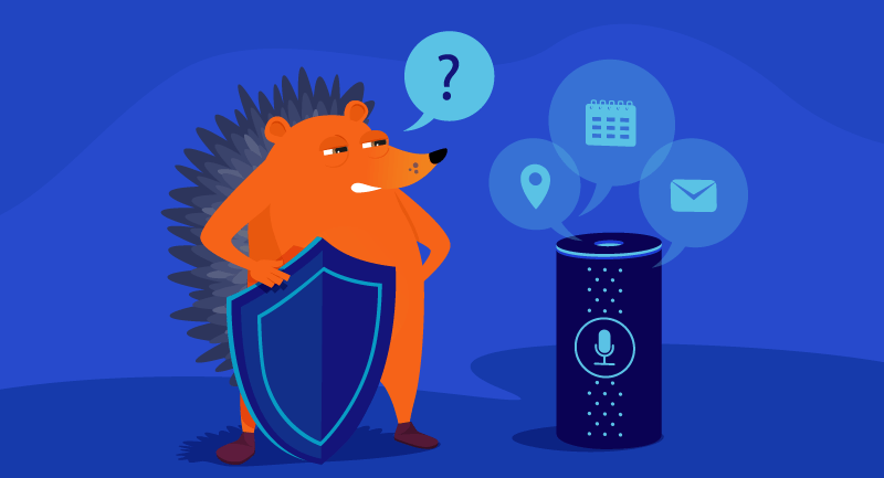 Hero article of How secure are virtual assistants?