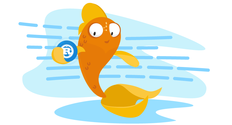 Fish with Rust logo