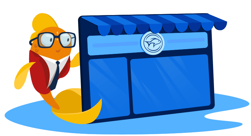 Fish with online fish store