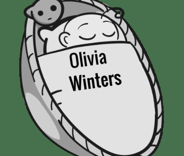 Olivia Winters Sleeping Baby