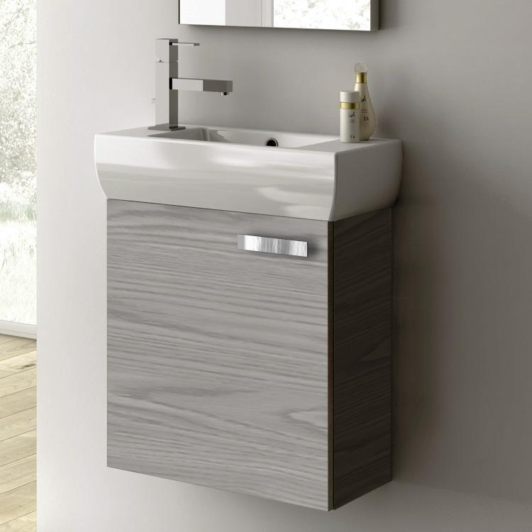 acf c13 grey walnut bathroom vanity