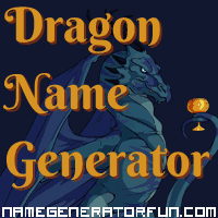 Get your own dragon name from the dragon name generator!