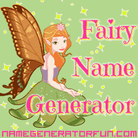 Get your own fairy name from the fairy name generator!
