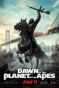 Dawn of the Planet of the Apes July 11 2014 poster