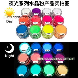 Glow in dark Dip powder 2-in-1 Acrylic powder