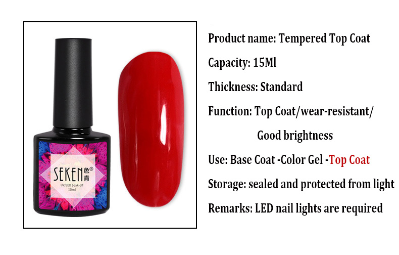 Tempered TopCoat