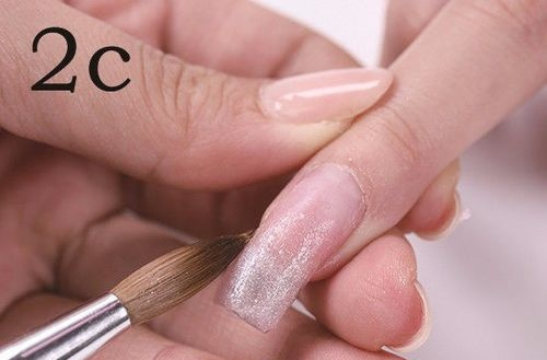 How to extend Acrylic nails
