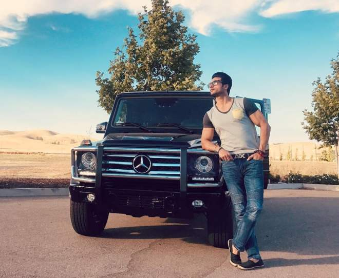 Guru Mann's Mercedes Car