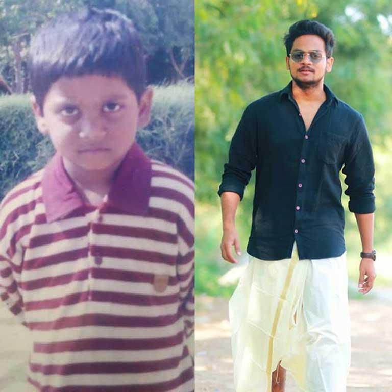 Shanmukh Jaswanth's childhood photo