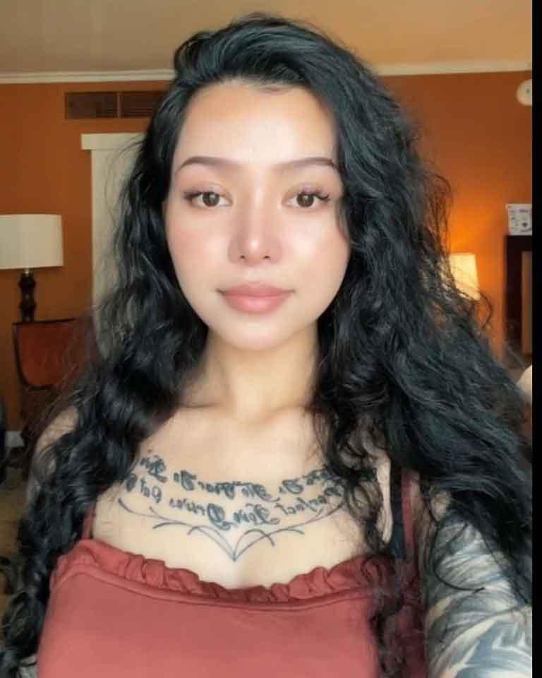 Bella Poarch on TikTok
