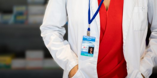 Photo ID Badge for Medical Professionals