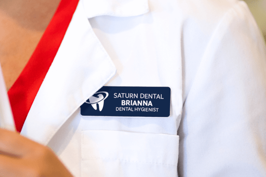 Custom Name Tag for Dentists