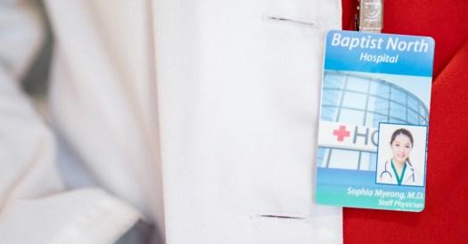 Hospital Photo ID Badge