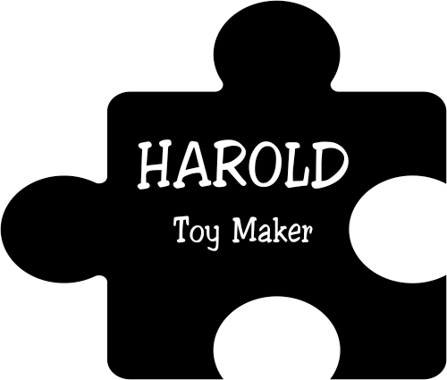 Puzzle Piece Name Tag Example