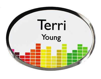 Full Color Name Badge
