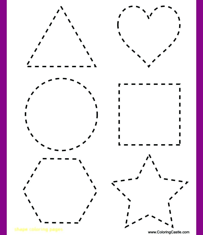 Heart Tracing Worksheets Preschool