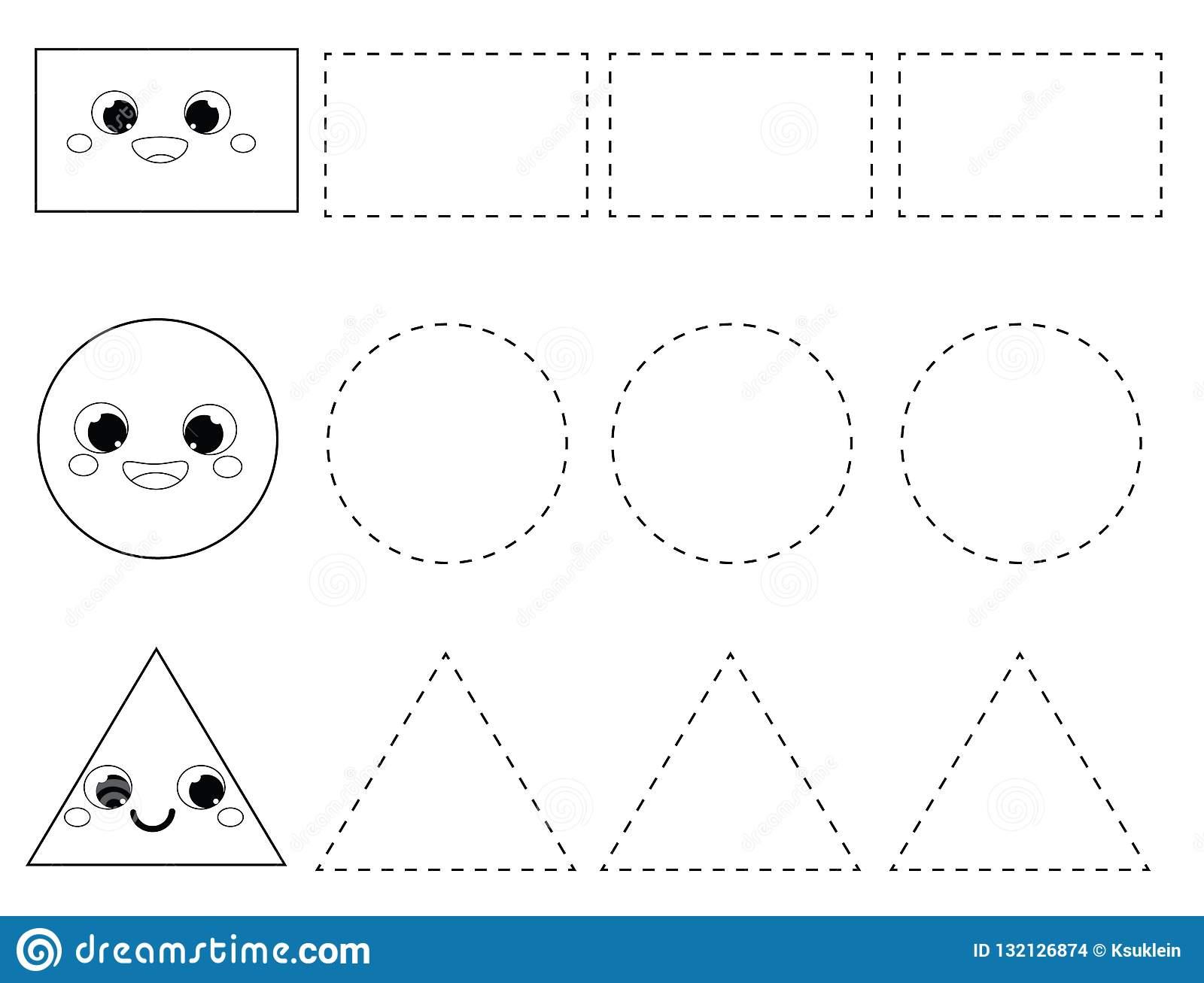 Educational Tracing Worksheets