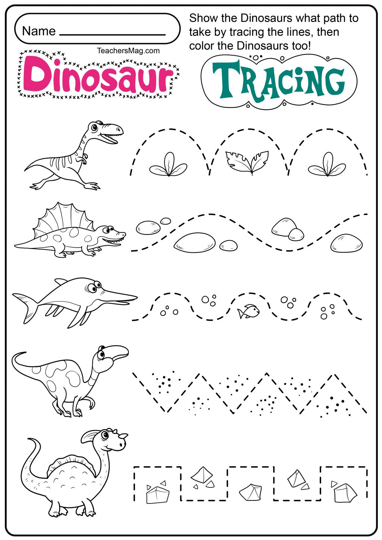 Free Tracing Worksheets Preschool