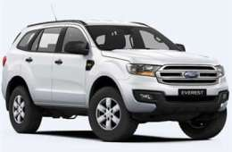 Group I4 – 4X4 Ford Everest auto or similar