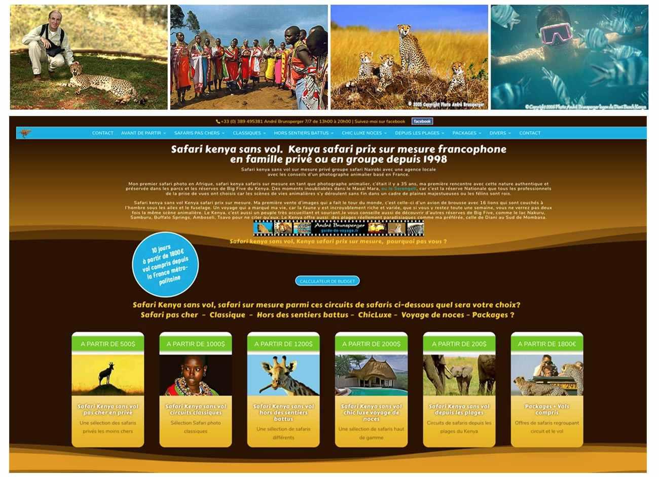 Voyage et safari au Kenya