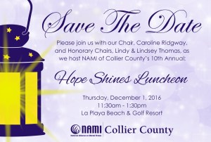 Save The Date - Luncheon 2016