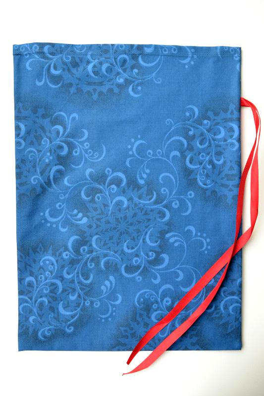 Kalėdinis dovanų krepšelis - Šerkšnas