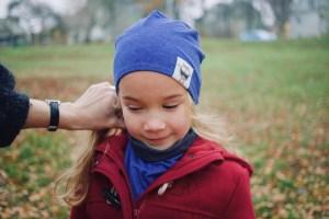 Kepurė vaikui rudeniui 'MANO NUOTAIKA'