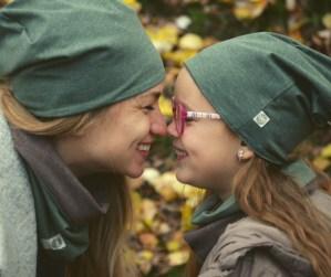 Neutrali rudeninė kepurė - Dvipusė Ckaki/Ruda