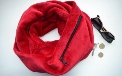 Raudonas šalikas